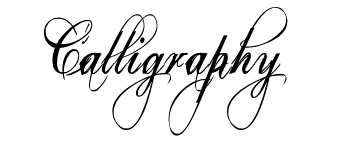 Free Calligraphy Fonts Download