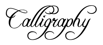 photograph regarding Printable Fonts called Calligraphy Alphabet - No cost Calligraphy Printable Alphabets